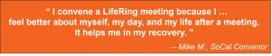 LifeRing Secular Recovery convenor shares why convening is so rewarding.